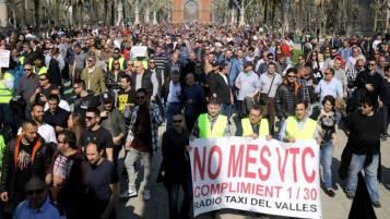 huelga de taxis 1