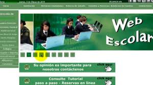 pagina web escolar