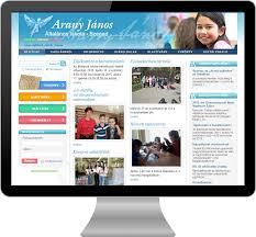 página web escolar 2