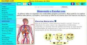 página web escolar 3